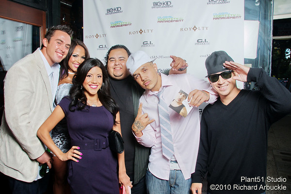 Royalty's Video release Party at Club Azucar  San Jose, CA