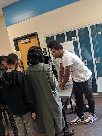 Make Them Care Fair--8th grade IB Community Service Project--Trimester 1