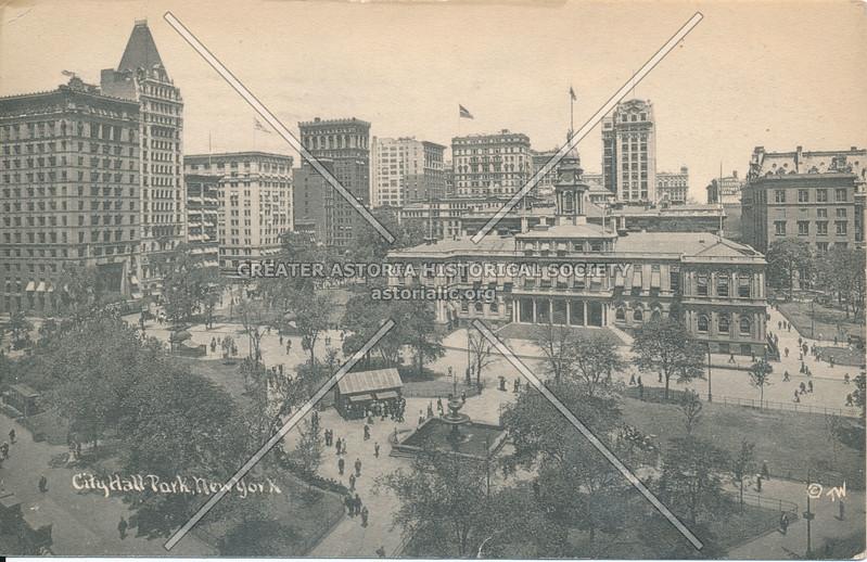 City Hall Park, N.Y.