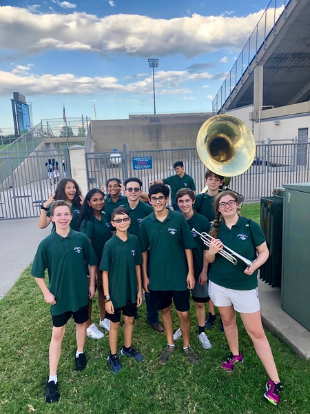 2019.09.24 - Jasper Band @ Rice Alumni Game