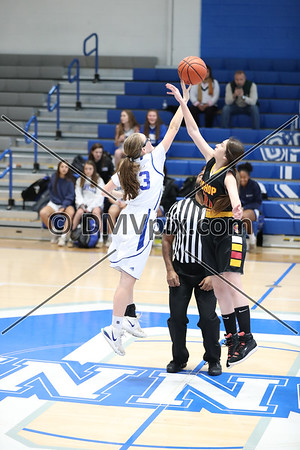 Bishop Ireton @ DJO Girls Freshman Basketball (09 Jan 2020)