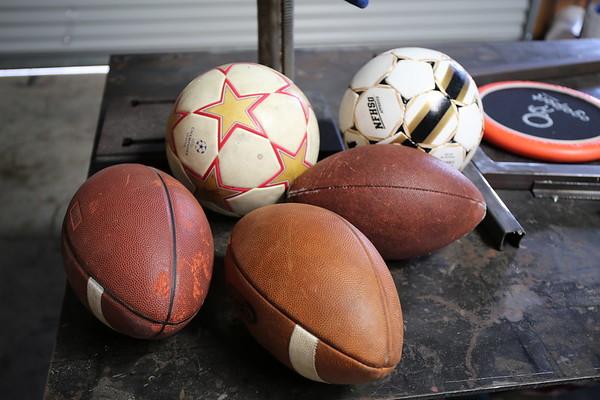 3B: Bikes, Soccer, Football, Frisbee
