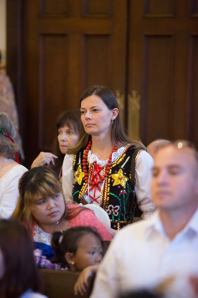 Wiesia Zakrzewska, representing Europe Visitation Parish