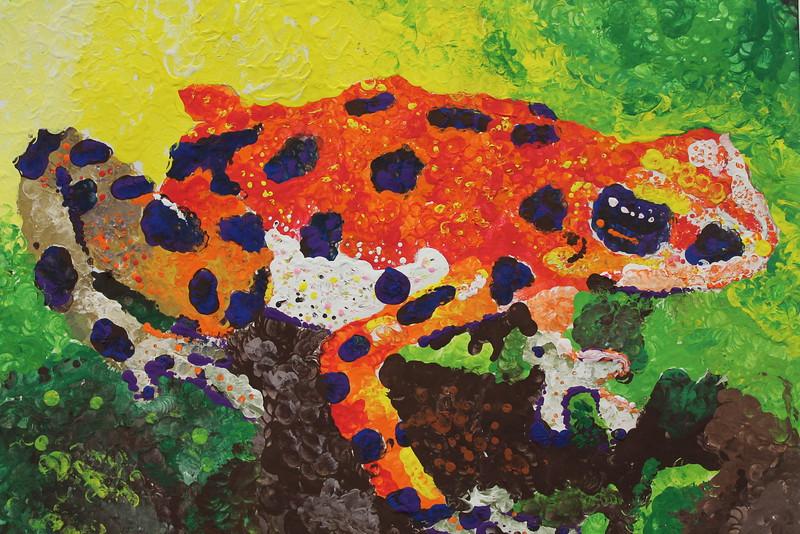 Cole Eisenmann 6 Dotted Frog.JPG