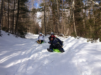 Moosilauke Hike/Sled 3/2/14