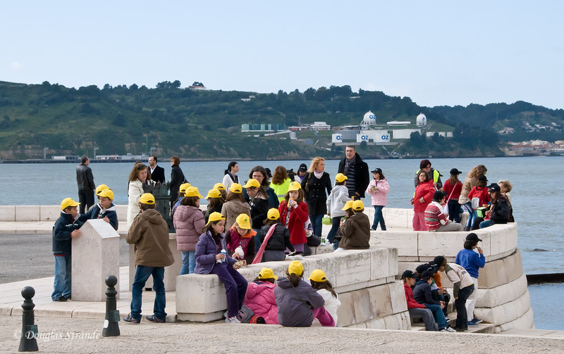 Thur 3/17 in Lisbon: Class trip to the monuments