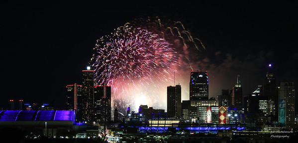 Detroit Fireworks 2018