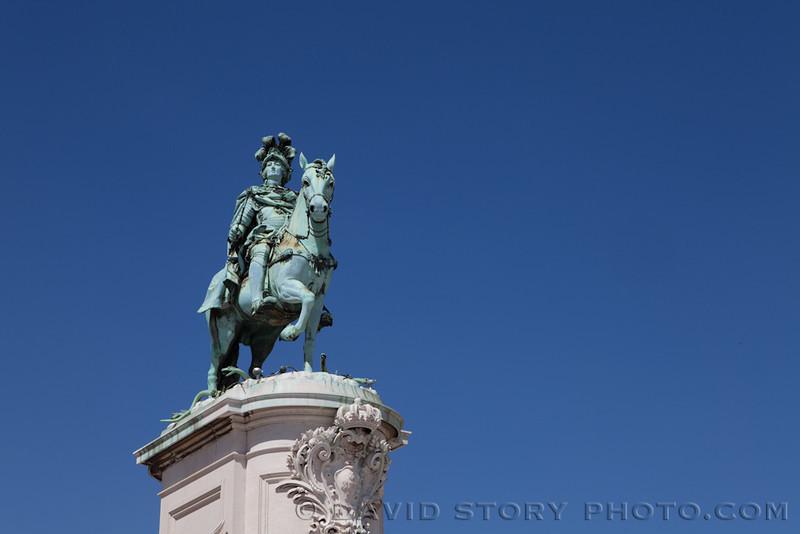 King José I. Lisbon, Portugal.