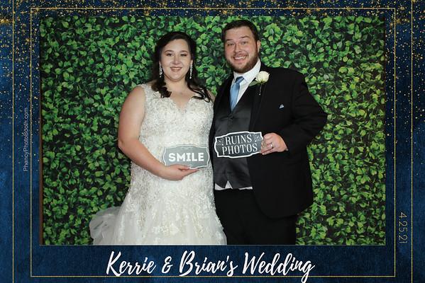 Kerrie & Brian's Wedding  4/25/21
