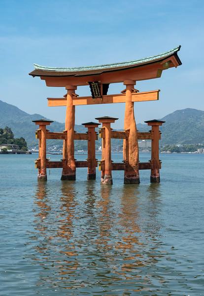 Torii (Gate) of Itsukushima Shrine, Miyajima, Japan