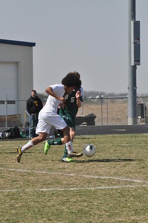 Var Boys Soccer vs Pius X, 4-2-2011