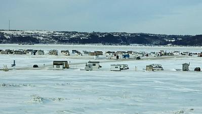 19-2-2013 Raquette au Saguenay, Jour 1 (Bec-Scie)