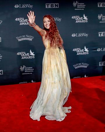 49th GMA Dove Awards Red Carpet | Nashville TN | 10-16-18