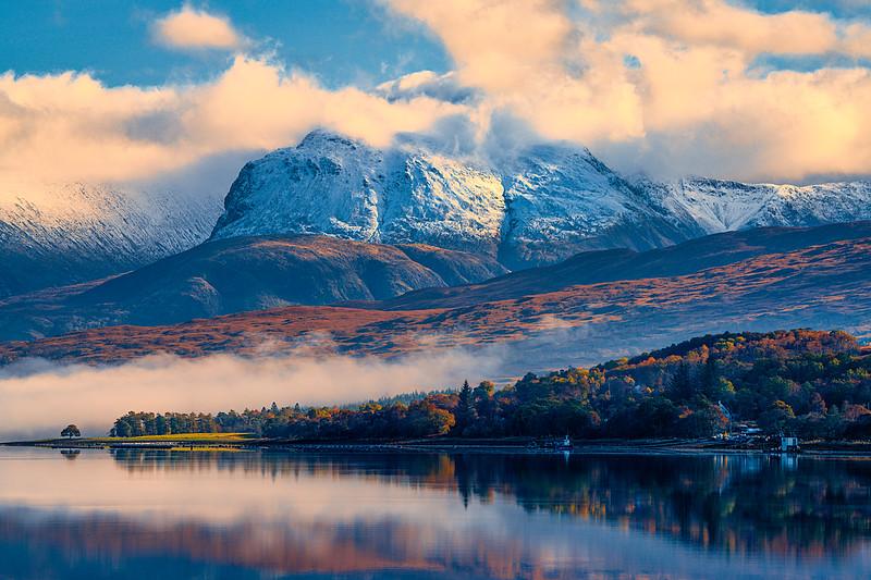 Loch Eil and Ben Nevis