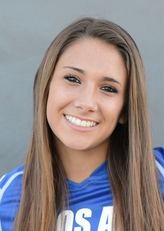 . Allie Emmons (12)of Los Alamitos girls soccer