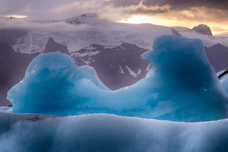 Ice, Glacier Lagoon, Jökulsárlón