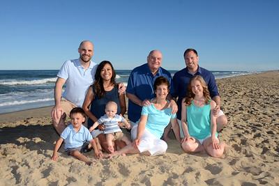 DeCristofano Family Beach Portraits July 9, 2018