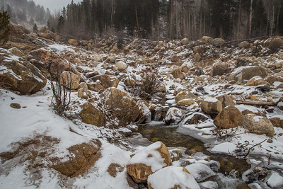 Rocky Mountain National Park - Winter