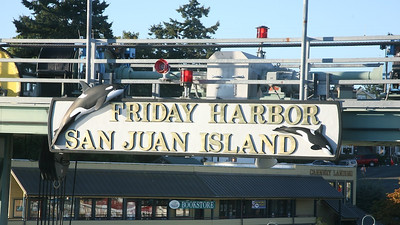 Friday Harbor to Seattle Trip