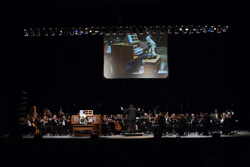 2013 Festival of the Arts BOCA presents Cameron Carpenter, Organ; Constantine Kitsopoulos, conductor and Festival Music Director; with Boca Raton Symphonia