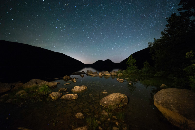 Starry Sky Jordan Pond_3843