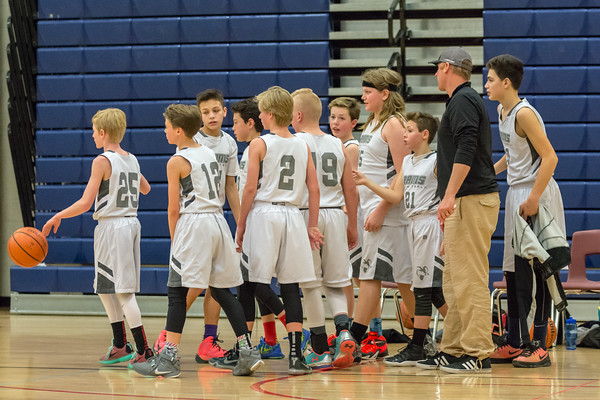 Rams vs Salt Lake Sonics - 7th Grade