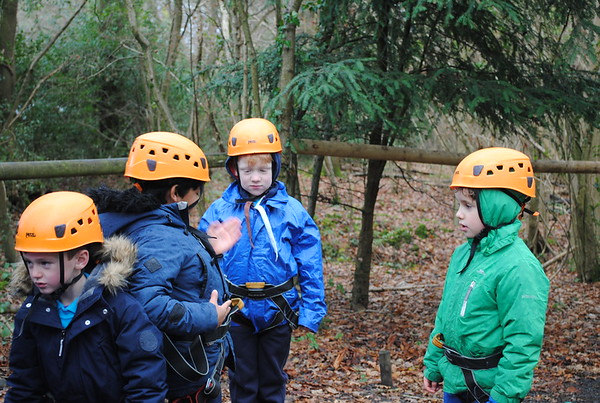 Winter Camp at Downe