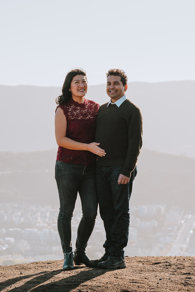 Jia & Suyash - San Francisco Engagement Session