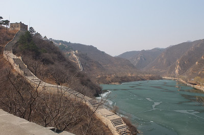 water great wall
