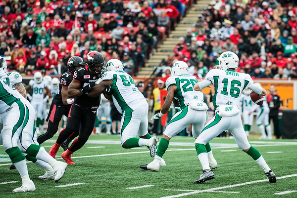 Stamps vs Riders 2015