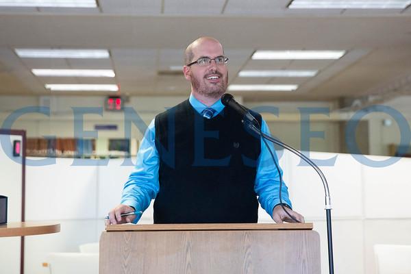 ACRL Award Presentation at Milne Library