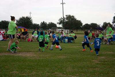 4. Stingrays vs Green Team 10-24-15
