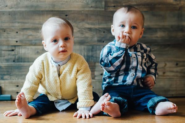Sarah + Jacob Twins