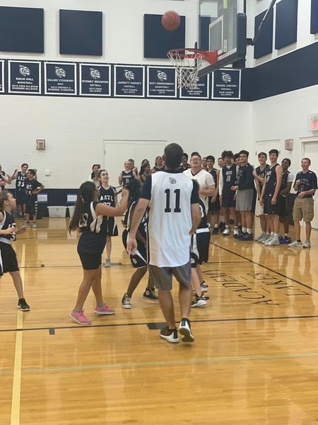 Student/Faculty Basketball Game 2019