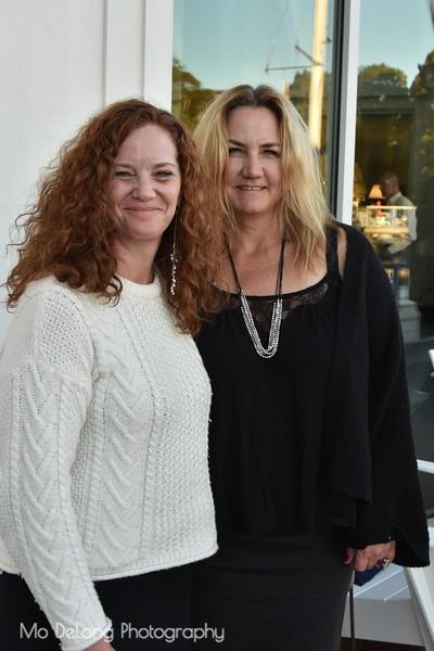 Marla Schrank and Kirstie Martinelli