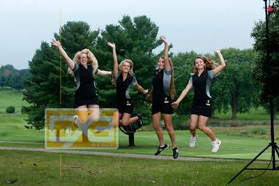 Tomah girls' golf seniors GG18