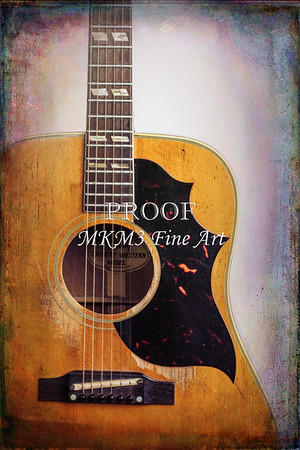 Gibson 1973 Country Western Acoustic Guitar Color