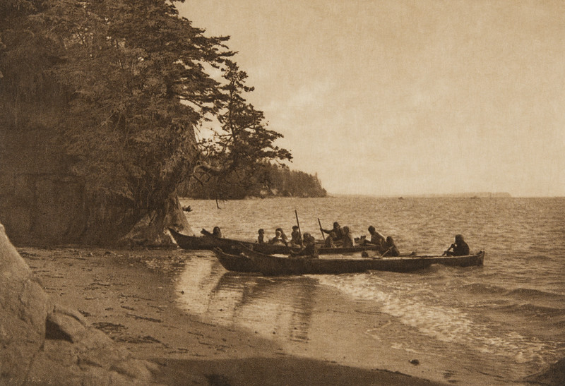 Shores of Shoalwater Bay (The North American Indian, v. IX. Norwood, MA: The Plimpton Press, 1913)