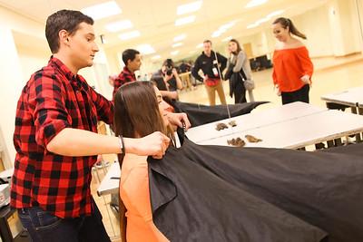 2018 BuckeyeThon Haircutting