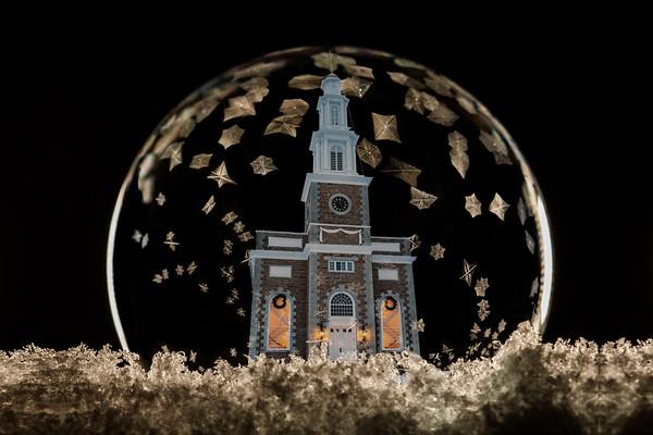 Clinton Buildings in Frozen Bubbles