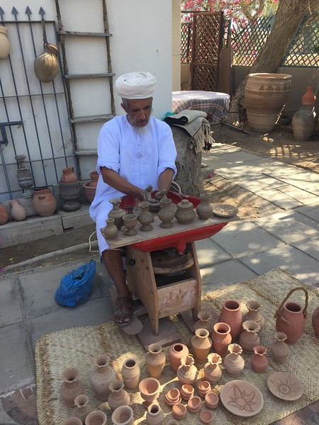 Local artistry in Muscat, Oman - Bridget St. Clair