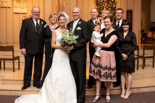 Wedding - Brian and Jenny - Family