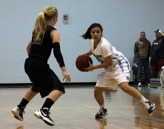 Girls Basketball v South Johnston 1-11-13