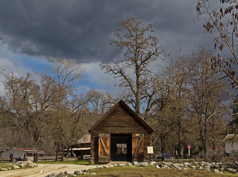 Prospector's hut in Coloma