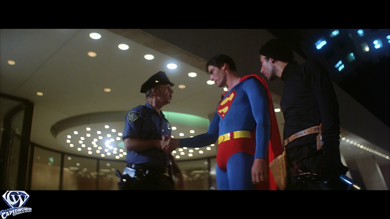 Superman Nabs The Burglar
