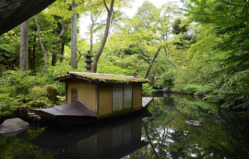 Tea garden at Nezu Museum