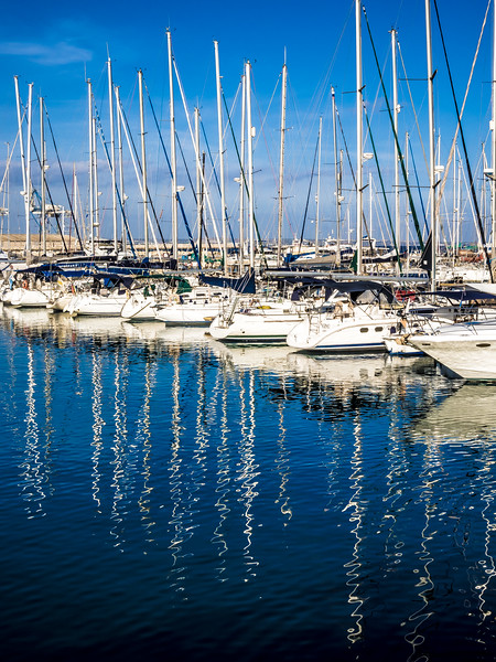 Larnaca Marina in January