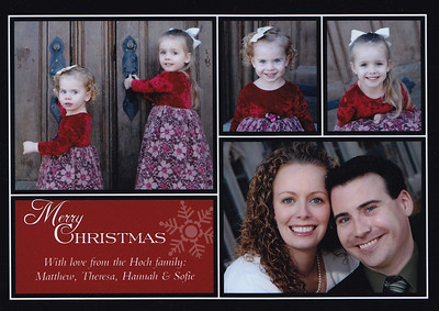 Hoch Family Christmas Cards