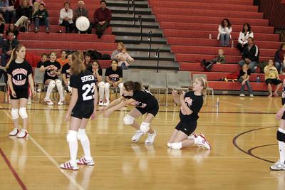 Girls Volleyball 7A - 2/21/2007 Newaygo