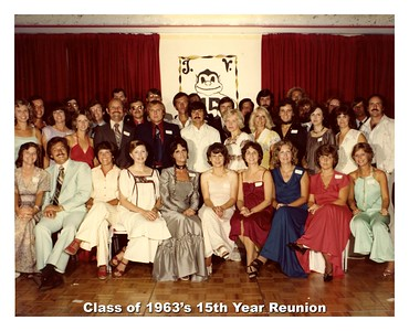 '63 - 15th Year Reunion